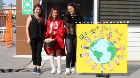 Ataşehir Okyanus Koleji'nde Culture Fest Etkinliği