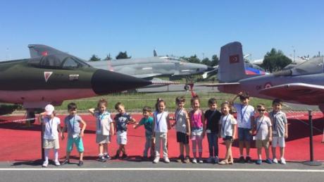 Bahçelievler Okul Öncesi B Grubu Öğrencilerimiz Yeşilköy Havacılık Müzesini Ziyaret Etti.