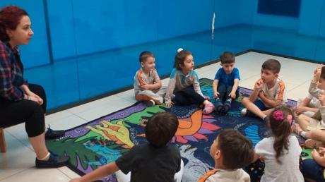 Bahçelievler Okul Öncesi Deniz Yıldızı Grubu Drama Etkinliğinde
