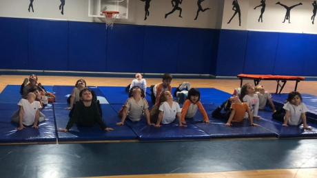 Bahçelievler Okyanus Koleji Okul Öncesi Öğrencileri İlgi ve Yetenek Merkezlerinden Jimnastik Eğitiminde