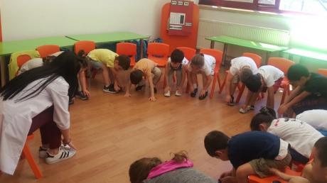 Bahçelievler Okyanus Koleji Okul Öncesi Mercan Grubu Türkçe Dil Eğitiminde