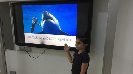 Bahçeşehir Kampüsü Üstün Zekâlılar İlkokulu 4-D Sınıfı Soyu Tükenme Tehlikesi Yaşayan Hayvanları Tanıttılar