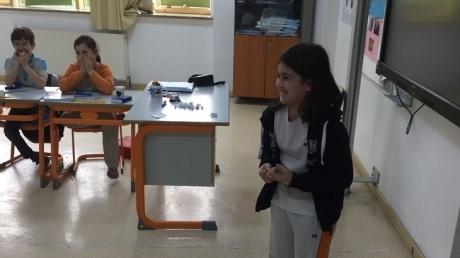 Bahçeşehir Okyanus Koleji Üstün Zekâlılar ve Yetenekliler İlkokulu 4-F Sınıfı Doğaçlama Hikaye Oluşturdular