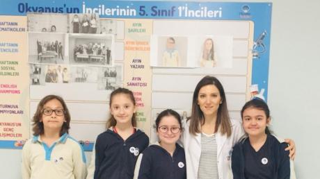 Bayrampaşa Okyanus Koleji Nisan Ayı Myon Bookworm Yarışması