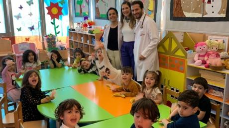Beykent Okul Öncesi Çiçekler Grubu Aile Katılımı Etkinliğinde