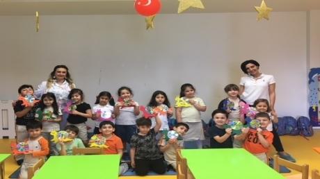Beykent Okyanus Koleji Güneş Grubu Aile Katılım Etkinliğinde.
