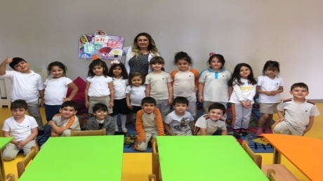 Beykent Okyanus Koleji Güneş Grubu Öğrencileri Sanat Etkinliğinde.