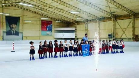 Beykent Okyanus Koleji İlkokul Kademesi 1. Sınıflar Buz Paten Kulübü Yıl Sonu  Gösterisi