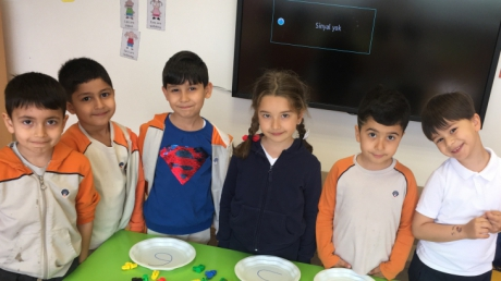 Beykent Okyanus Koleji Okul Öncesi Balıklar Sınıfı Oyun Etkinliğinde