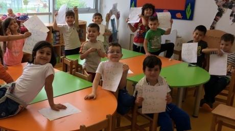 Beykent Okyanus Koleji Okul Öncesi Gökkuşağı Grubu Öğrencileri Matematik Dersinde
