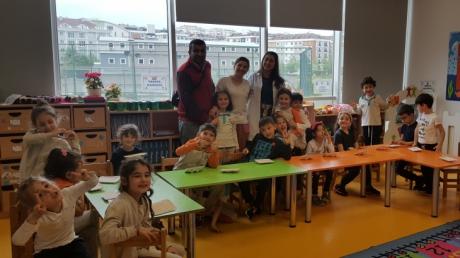 Beykent Okyanus Koleji Okul Öncesi Güneş  Grubu Öğrencileri Aile Katılımı Etkinliğinde