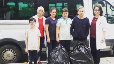 Beykent Okyanus Koleji Ortaokul Kademesi Kapak Kampanyası