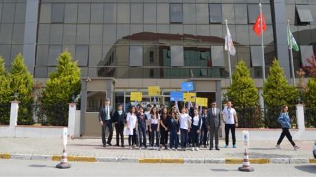 Beykent Okyanus Koleji Ortaokul Kademesi Kara Yolu Trafik Haftası Etkinliği Gerçekleştirildi.