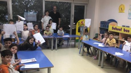 Beylikdüzü Okul Öncesi Bulutlar Grubu Aile Katılımı Etkinliğinde