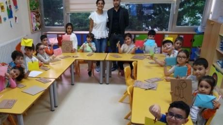 Beylikdüzü Okul Öncesi Bulutlar Sınıfı Aile Katılım Etkinliğinde