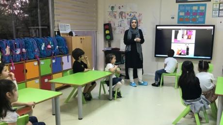 Beylikdüzü Okul Öncesi Gezegenler Grubu Aile Katılımı Etkinliğinde