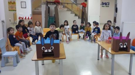 Beylikdüzü Okul Öncesi  Kuşlar Sınıfı Oyun Dersinde