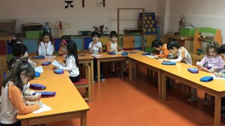 Beylikdüzü Okul Öncesi Yunuslar Grubu Fastrackids Dersinde