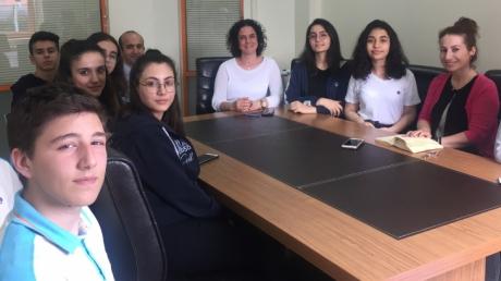 Beylikdüzü Okyanus Anadolu Lisesi ''Okul Öğrenci Meclisimiz Çalışmaya Devam Ediyor''