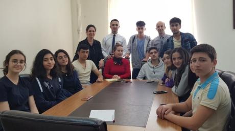 Beylikdüzü Okyanus Koleji ''Okul Öğrenci Meclisi Toplantısı''