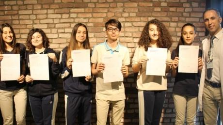 Bornova Okyanus Anadolu Lisesi Almanca Sertifika Sınavında