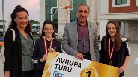 Bornova Okyanus Koleji Ortaokulu OBİT 2018 Birinciliği