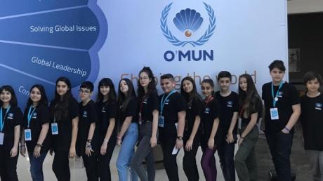 Bornova Okyanus Kolejinde O'MUN Konferansları