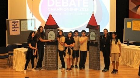 Bornova Okyanus Ortaokulu İngilizce Münazara Finalinde