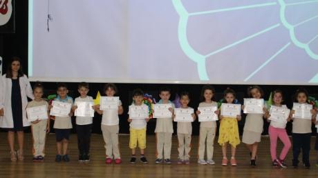 Bursa Nilüfer Okyanus Koleji Anaokulu YILDIZLAR ve BULUTLAR grubu İlkokula Hazırlık Ders'inde