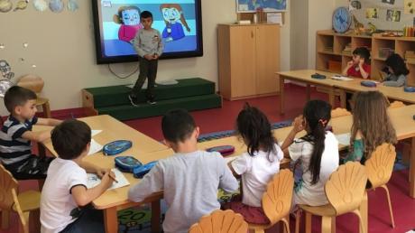 Çekmeköy Okul Öncesi Yıldızlar Grubu Fastrackids Dersinde