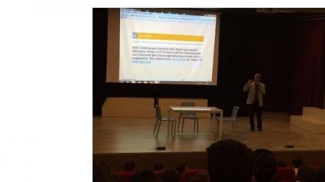 Çekmeköy Kampüsü Anadolu Lisesinde Teknoloji Bağımlılığı Semineri Gerçekleşti