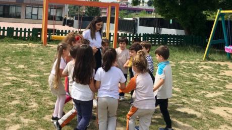 Çekmeköy Okyanus Koleji, Okul Öncesi Gökkuşağı Grubu Serbest Oyun Etkinliğinde