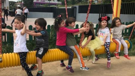 Çekmeköy Okyanus Koleji, Okul öncesi Çiçekler Grubu Türkçe Dil Etkinliğinde
