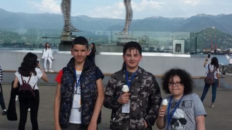 Çekmeköy Okyanus Koleji Ortaokulu öğrencileri 29 Nisan - 02 Mayıs tarihlerinde Karadeniz Batum Kültür gezisine çıktılar