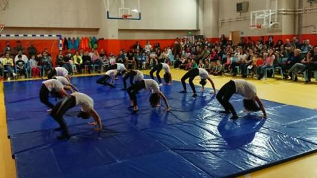 Çekmeköy Okyanus Kolejleri Beden Eğitimi Zümresi tarafından yıl sonu sportif kulüp gösterisi düzenlendi.