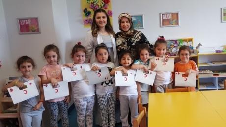 Deniz Yıldızı Grubu Öğrencileri Aile Katılımında