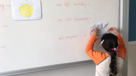 Eryaman Okyanus Koleji Öğrencileri Almanca Dil Kulübü Dersinde Hava Durumunu Öğreniyor