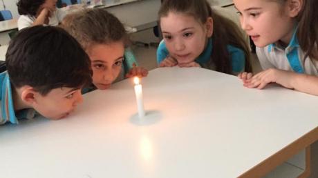 """Eryaman Okyanus Koleji Öğrencileri """"Candle Flames"""" Etkinliğinde"""