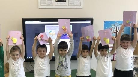 Eryaman Okyanus Koleji Okul Öncesi Bölümü İnciler Sınıfı İngilizce Dersinde