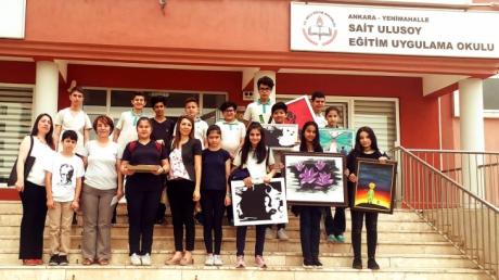 Eryaman Okyanus Koleji Öğrencileri Sait Ulusoy Özel Eğitim Uygulama Merkezinde