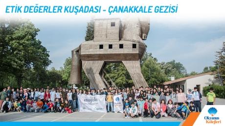 Etik Değerler Kuşadası - Çanakkale Gezisi