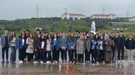 Fatih Okyanus Koleji Anadolu Lisesi 11.Sınıf Öğrencileri Sabancı Üniversitesinde