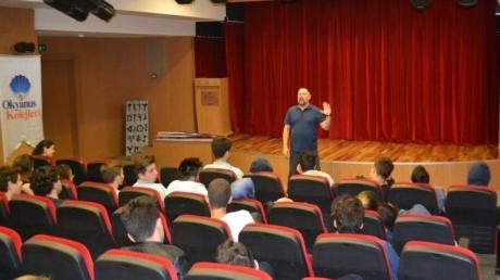 Fatih Okyanus Koleji Anadolu Lisesi Öğrencilerine Spor Yöneticiliği Bölüm Tanıtım Semineri
