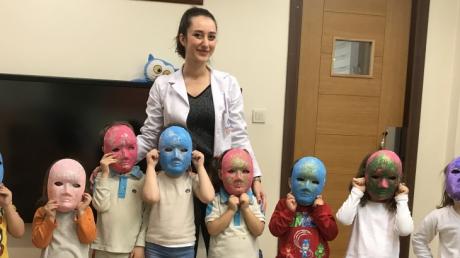 Fatih okyanus Koleji Okul Öncesi  Kuşlar Grubu Türkçe Dil Etkinliğinde