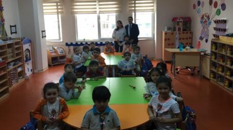 Güneşli Okyanus Koleji Okul Öncesi Yunuslar Grubu Aile Katılımında