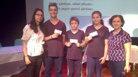 Halkalı Okyanus Koleji Öğrencileri Türkçe Günü'nü Kutladılar