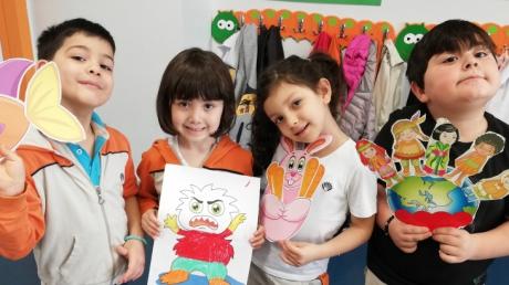 Halkalı Gökkuşağı Grubu Öğrencileri Aile Katılımı Etkinliğinde