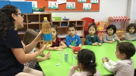 Halkalı Okul Öncesi  Ağaçlar Grubu Aile Katılım Etkinliğinde