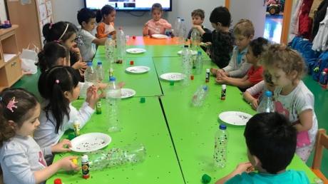 Halkalı Okul Öncesi  Balıklar Grubu Öğrencileri Sanat Etkinliğinde