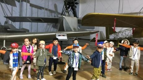 Halkalı Okul Öncesi  C  Grubu Öğrencileri İstanbul Hava Kuvvetleri  Müzesinde